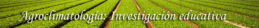agroclimatología investigacion educativa jessy